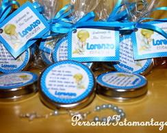 Latinha Lembran�a de Batismo - Mini ter�