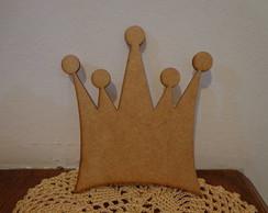 Coroa Lisa em mdf