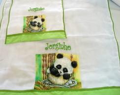 Kit Fralda Urso Panda
