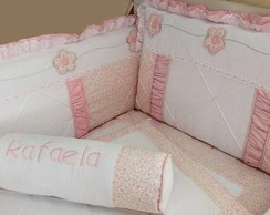 Ref 264 - Kb Floral Rosa 12 pe�as
