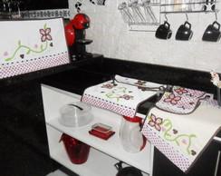 Conjunto para cozinha: fofura rosa