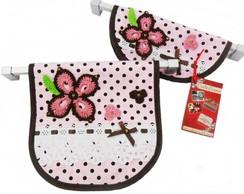 Capa Para Puxadores - po�s floral