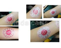 Tatuagem Tempor�ria Glitter