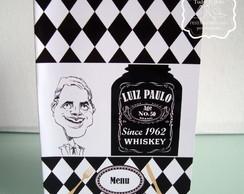 Card�pio Personalizado Jack Daniel's