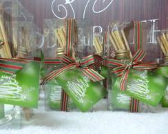 Mini aromatizador lembrancinha de Natal