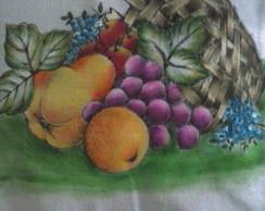 Pano de Copas. Frutas