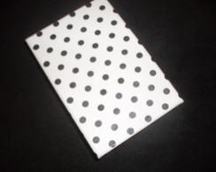 Caixa MDF Preto e Branco