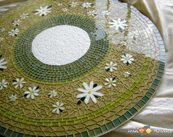 "Mosaico Prato Girat�rio ""Jardim II"""