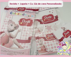 Revista p/ colorir - Angelina Ballerina
