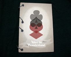 Caderno Alice in Wonderland - Nipes