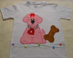 Camiseta Infantil - Cachorrinho 2