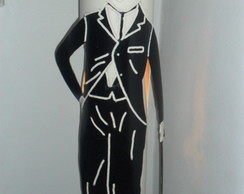 Lumin�ria em PVC Charles Chaplin