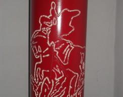 Lumin�ria em PVC S�o Jorge II