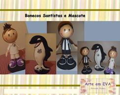 Bonecos Personalizados em EVA