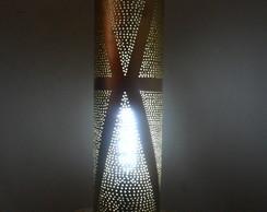 Lumin�ria em PVC Abstrato