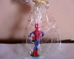 Homem aranha com espiral pl�stico