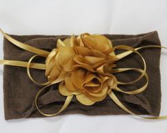 faixa para beb� bouquet flores