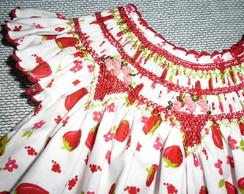 Vestido De Beb�  'Moranguinho Doce'