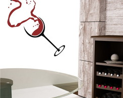 Adesivo Love for Wine - Magia Decor