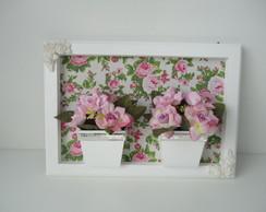 Quadro Flores Duplo-VENDIDO