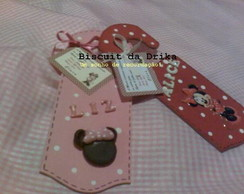 Convite MINNIE para portas / Invitation