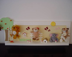 (DO 0052) Painel zoo