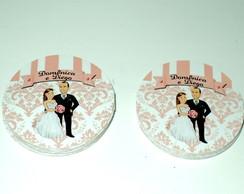 Adesivo Latinha Personalizada Casamento
