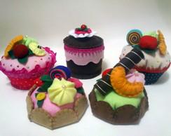 Tortinhas e Cupcake