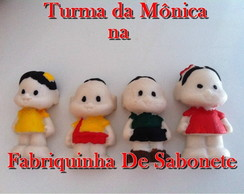 Sabonete Turma * 4 personagens