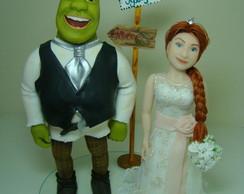 Noivinhos Shrek  e Fiona Princesa