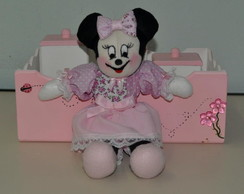 Kit Higiene Minnie Rosa