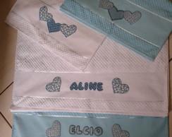 Jogo de toalhas personalizado