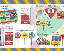 Kit Proven�al Galinha Pintadinha com 320