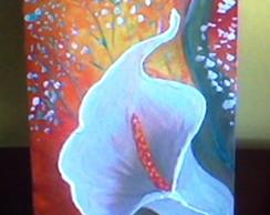 Caixa Pintada Copo de Leite