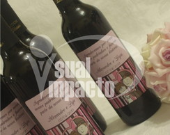 R�tulo e Caixa Personalizado p/ Vinho