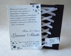 Convite De 15 Anos Corselet