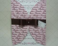 Convite Casamento Envelope Impresso
