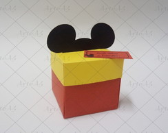 Convite Caixa Mickey