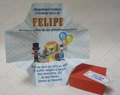 Convite Caixa Infantil Impress�o Externa