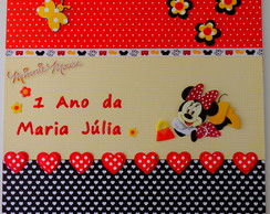 �lbum De Fotos Scrapbook Minnie