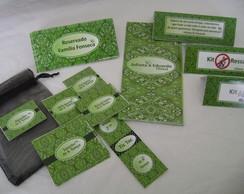 Kit Festa: Bandana Verde