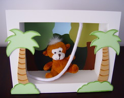 (DO 0036) Cen�rio decorativo macaco