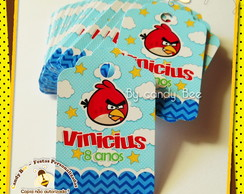 Tag Personalizado Angry Birds