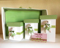 Kit Higiene Ursinho po� verde