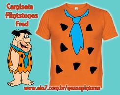 Camiseta Flintstones Fred - Adulto