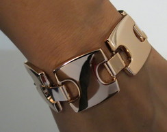 BRACELETE METAL ROSE GOLD