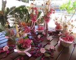 Kit festa rosa & pink na cumbuca I