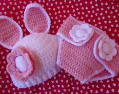 Conjunto Newborn Coelhinha Jujuba