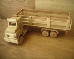 Caminh�o carreta de madeira