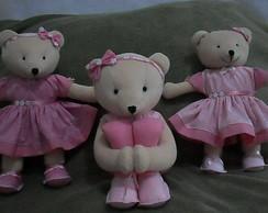 Ursas para nicho trio